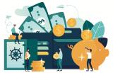Bank deposit generic graphic