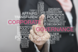 Corporate governance word cloud
